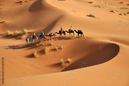 Leinwandbild Motiv sahara