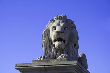 Stone Lion of the Chain Bridge