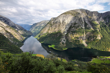 Norway - Naeroyfjord, UNESCO World Heritage Site
