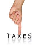 Tax politics poster