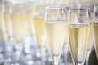 canvas print picture - sektgläser champagnergläser