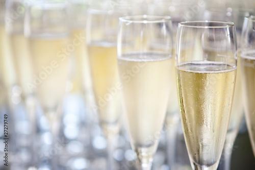 canvas print picture sektgläser champagnergläser