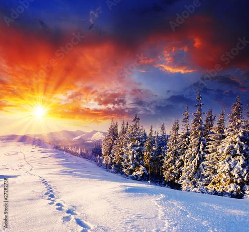 Leinwandbilder,hintergrund,schön,weihnachten,wolken