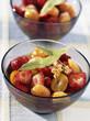 Salade de fraises aux kumquats