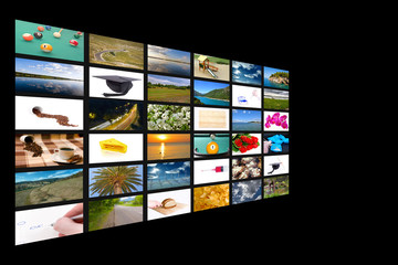 Multichannel television concept