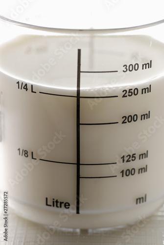 comment avoir 10 cl de lait