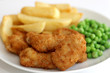 Scampi Peas and Chips - 27286915