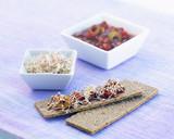 Fototapety Toast aux graines germées de quinoa