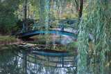 Bridge in Giverny, France where Monet painted his Water Lilies - 27287744