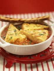 Omelette en ragoût
