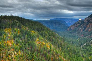 Oak Creek Canyon in Autumn