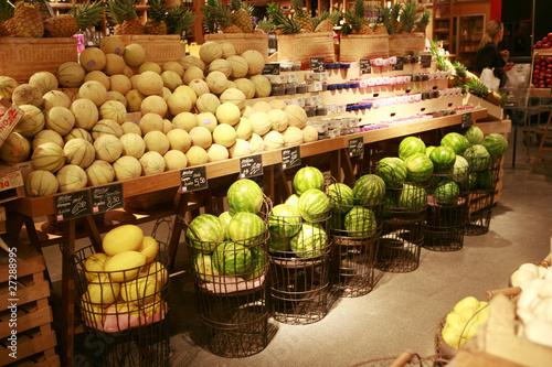 Assortiment de melons