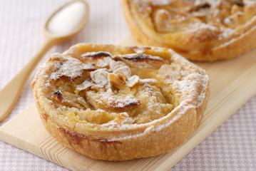Tartelettes aux pommes normande