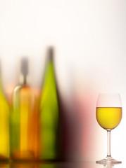 Composition autour du vin