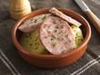 Salade de saucisson et pommes de terre