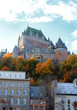 Chateau in Quebec city, Canada