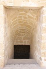 Underground passageway in Bahrain fort
