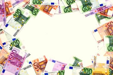 Geld-Rahmen