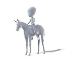 Pferd, Reiter, Springreiten
