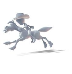 Held, Cowboy, Reiter