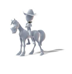 Pferd, Pferderange, Cowboy