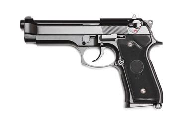 Modern U.S. Army M9 handgun.