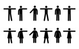 People Pictograms poster