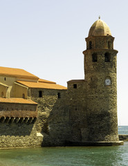 Belfry in Collioure