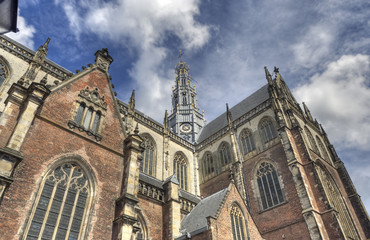 Church of Haarlem, Holland