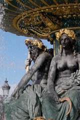 Concorde place, fountain detail