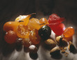 Candied fruit and almonds