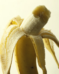 Bitten banana