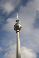 Fernsehturm Berlin in the city center - Germany.