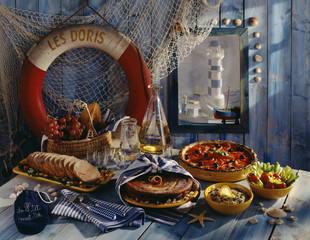 Corsican menu