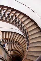 spiral staircase railing