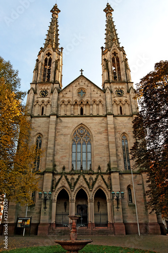 Church in Baden-Baden / Germany
