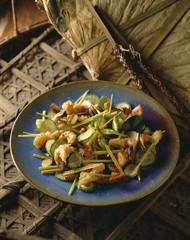 Shrimp and citronella salad