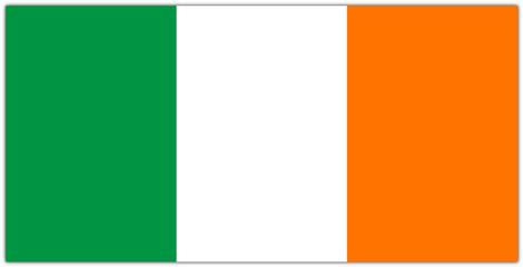 Flagge von Irland