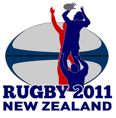 Rugby player lineout throw with ball new zealand 2011
