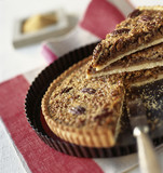 two sugar pecan tart