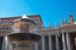 Fuente plaza Vaticano