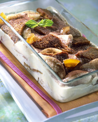 Gingerbread and orange Tiramisu