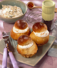 Cheese brioches