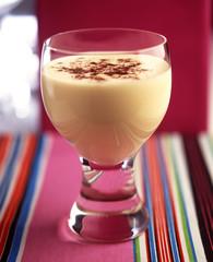 Banana,vanilla and coffee milkshake