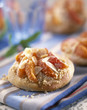Apricot and almond brioche-style tartlet