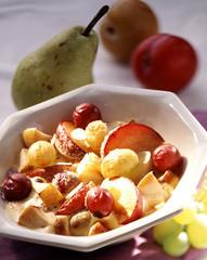 Fruit gratin
