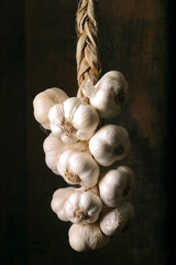 braid of garlic