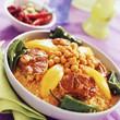 Spicy lamb couscous