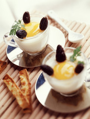 coddled egg with morel mushrooms and grilled soldiers