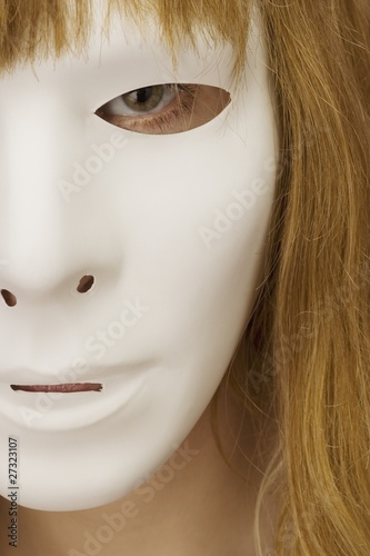 Woman Wearing A Mask
